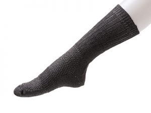 NoBuzz® Insect Repellent Hiking Crew Socks – Dark Grey